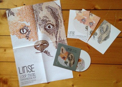 Linse – Corporate Design einer Band