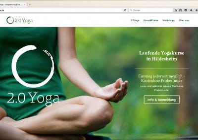 2.0 Yoga – Gesamtgestaltung